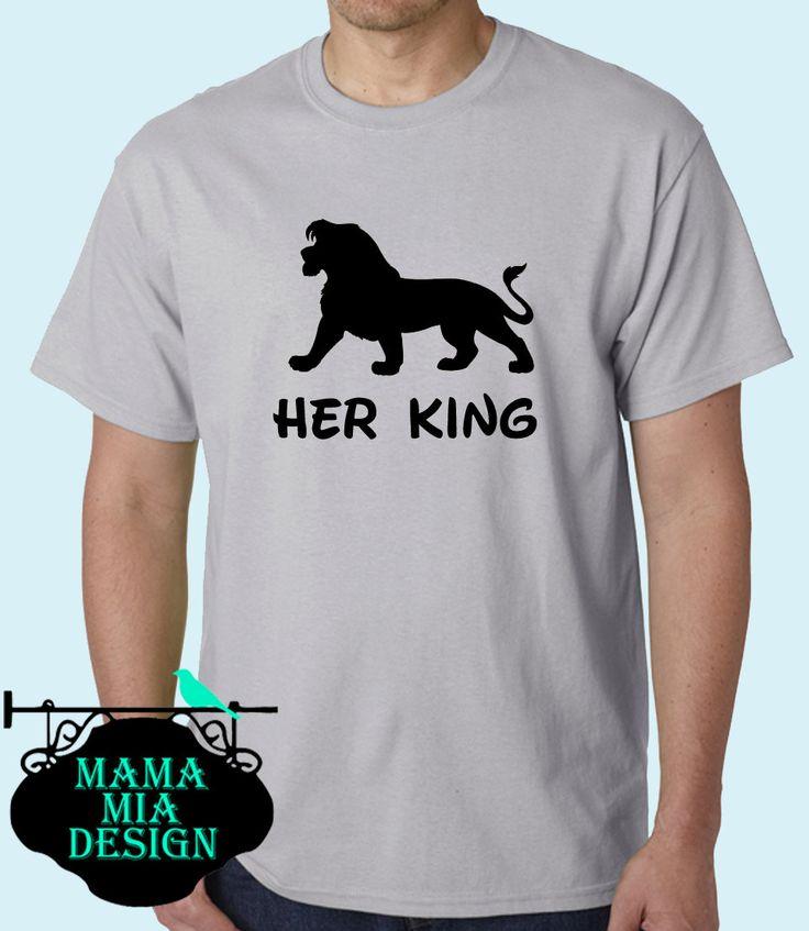 Matching Couples Shirts, Disney Couples Shirts, Lion King Couples Shirt, Matching Lion King Shirt, Disney Trip Matching Shirts, Lion King by MamaMiaDesign on Etsy