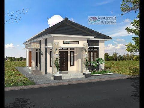 Modern House 7 X 13 3 K Tidur Desain Rumah Minimalis Lantai 1 Youtube Desain Rumah Eksterior Desain Rumah Bungalow Rumah Minimalis