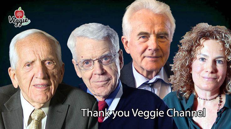 Cos'è Veggie Channel e cosa ne pensa il mondo della scienza? In questo clip troverai alcune importanti dichiarazioni rilasciate da personaggi come il Dott. T. Colin Campbell, il Dott. Caldwell B. Esselstyn, il Dott. Claus Leitzmann e molti altri: http://veggiechannel.com/video/scienze-medicina-salute-alimentazione/thank-you-veggie-channel