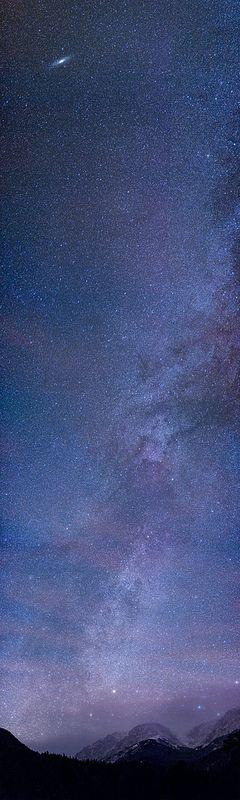 Horseshoe Park Milky Way with Andromeda Galaxy