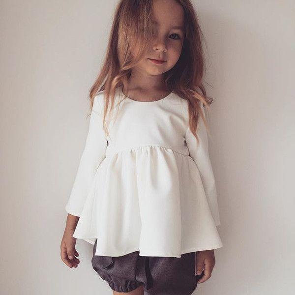 Bluzeczka Mija echu - Ma-LIni - Bluzeczki z długim rękawem