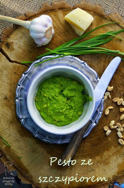 Kulinarne przygody Gatity: Pesto ze szczypioru czosnkowego