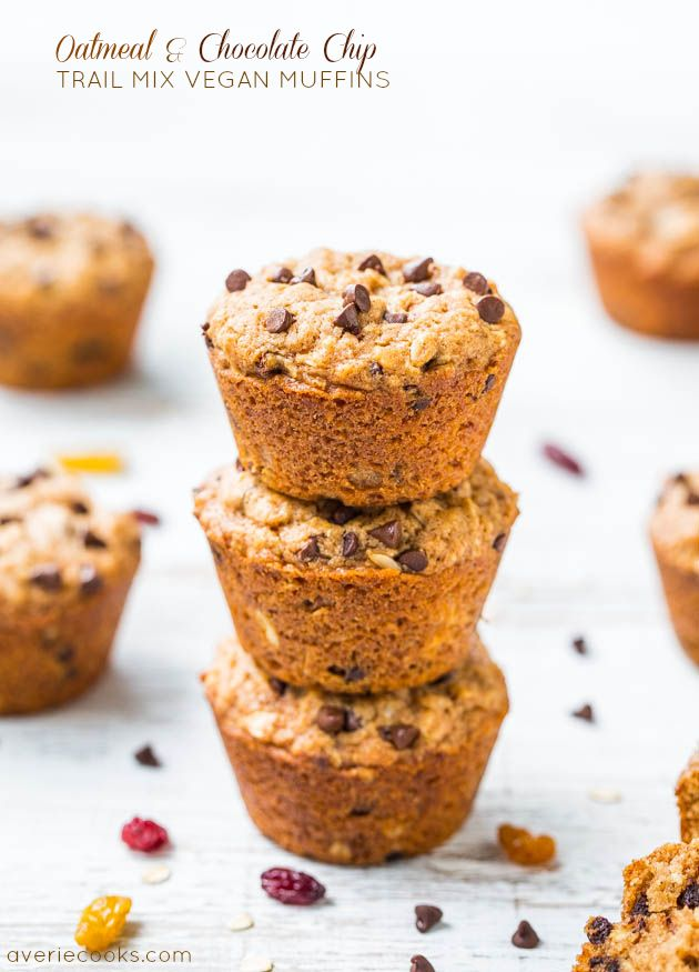 ... Mix Vegan Muffins   Vegan Muffins, Oatmeal and Oatmeal Chocolate Chips
