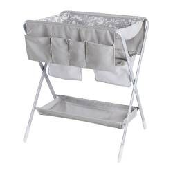 SPOLING changing table, white, beige Width: 60 cm Depth: 80 cm Height: 94 cm