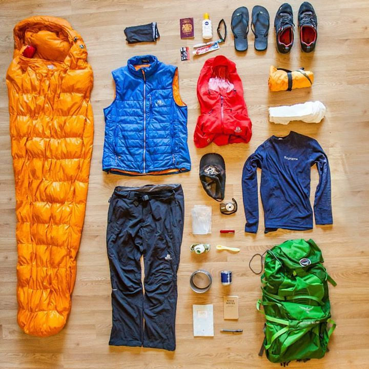 Alastair humphreys the gear i take on every expedition for Travel expedition gear