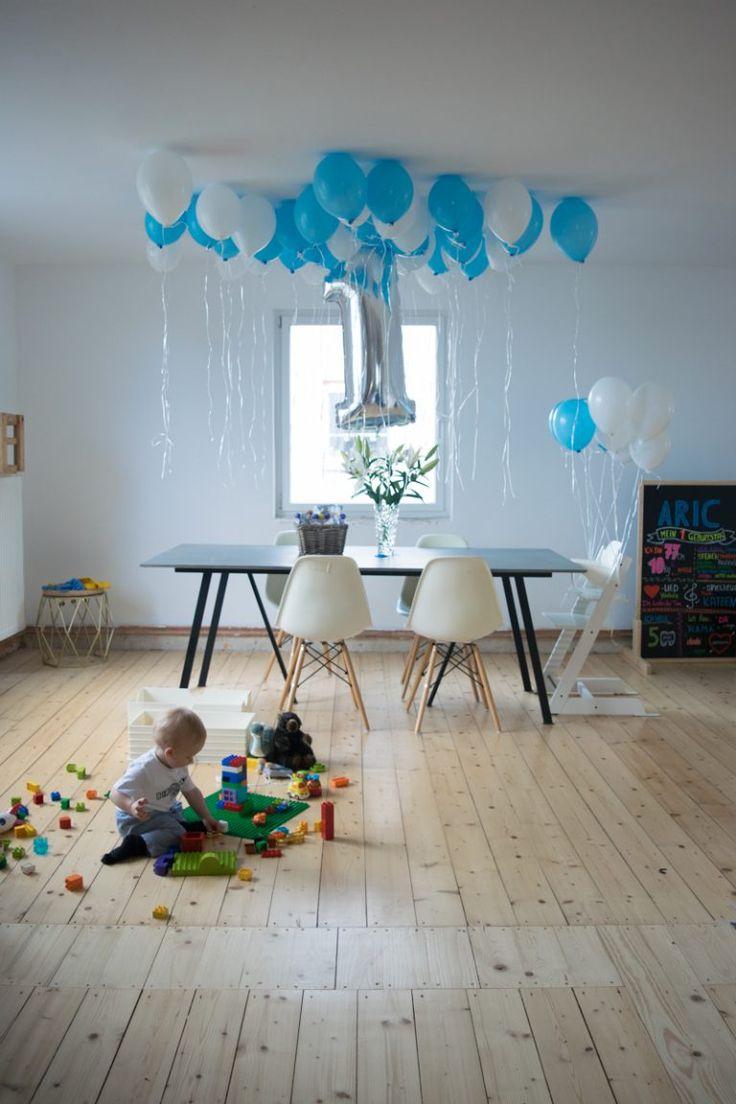 erster geburtstag junge pinterest trendshock instagram mamablogger geschenke gifts mamablog kindergeburtstag babygeburtstag geburtstagsdeko deko blau weiß baby first birthday