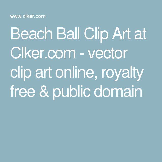 Beach Ball Clip Art at Clker.com - vector clip art online, royalty free & public domain
