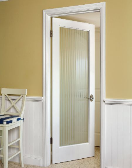 Bathroom Design Door : I think this would be nice on a bathroom that way the