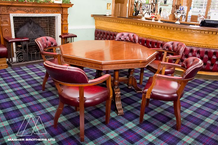 #handmade #woodwork #joinery #table #chairs at Blackheath golf Course