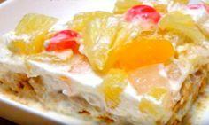Gâteau aux fruits facile... Un dessert à faire ABSOLUMENT!