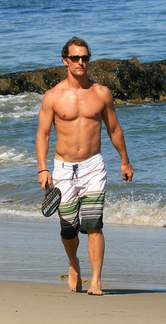 Matthew McConaughey: Bath Trunks, Gorgeous Men'S, Matthew Mcconaughey, Famous People, Celebrity Crushes, Eyes Candy, Beauty People, Beaches Body, Hot Guys