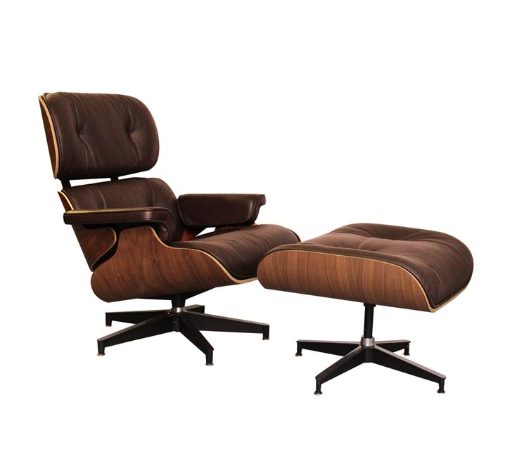 Eames Lounge Chair Brown Leather