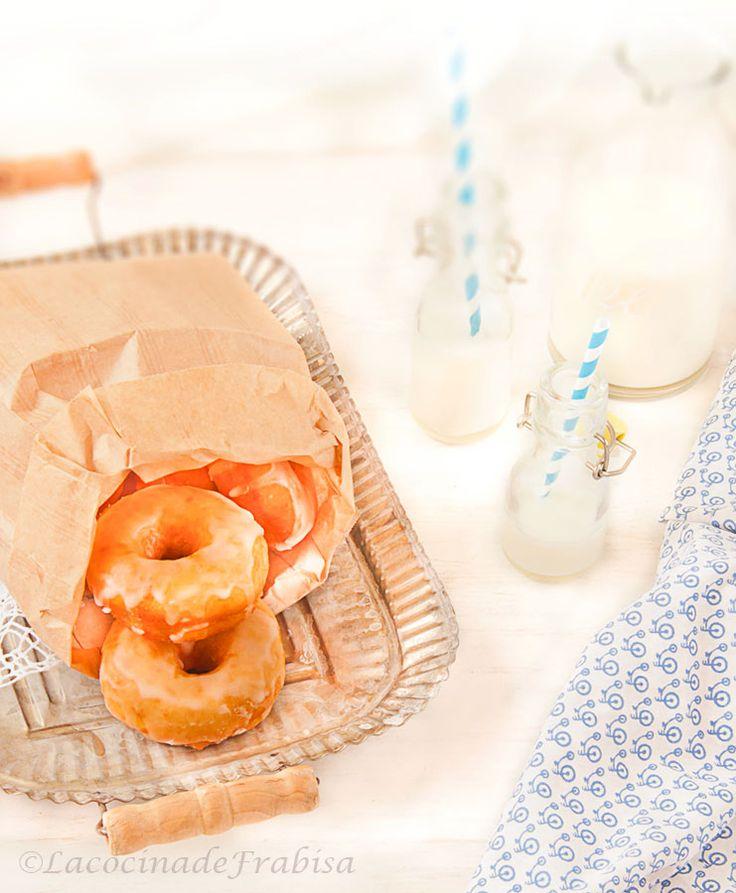La cocina de Frabisa: Receta de Donuts Caseros. EN THERMOMIX, MANUAL Y PANIFICADORA.