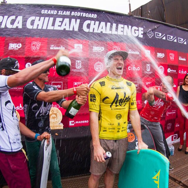 Iain Campbell wins Arica Chilean Challenge