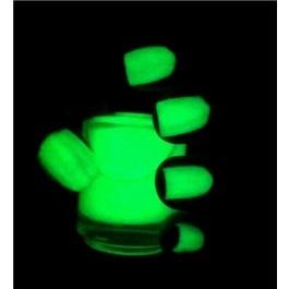 Vernis à ongles fluorescent vert