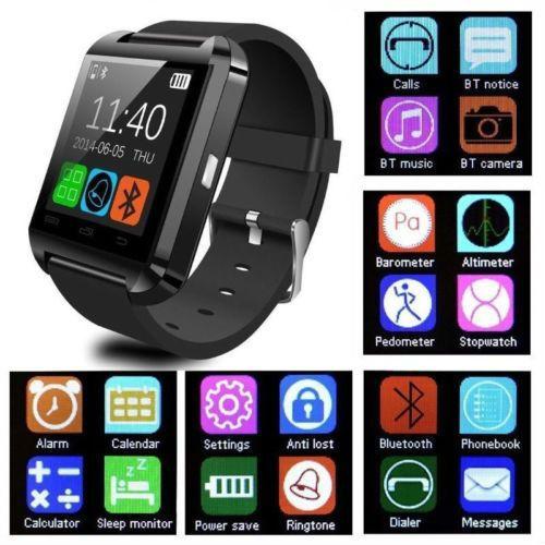 ¡Vendo smartwatch u8 NUEVO! Color: Negro cable USB para cargar. Tratos solo en Merliot