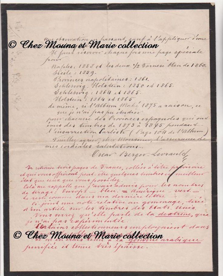 1889 - BERGER LEVRAULT - NANCY PARIS - LETTRE A FLECHEY - SIGNATURE
