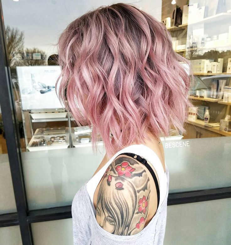 different colour hair styles best 25 different hair colors ideas on 6393 | fc03ec66cdc13ed3aad739389fa89e8d short wavy hairstyles hairstyles for medium length