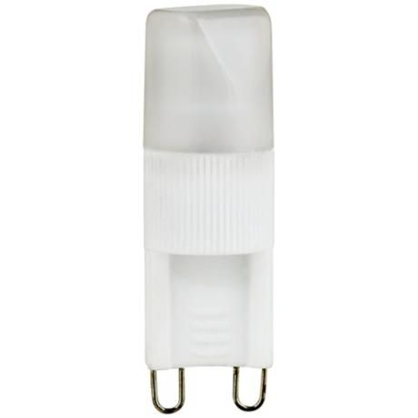 LED 2.5 Watt G-9 Light Bulb - BuildersDiscountLighting.com