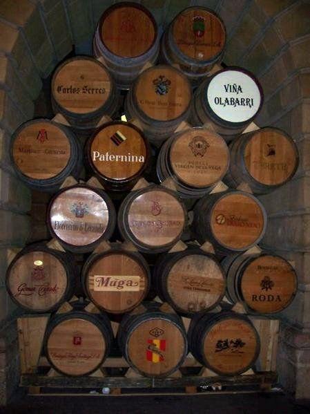 Barricas de Bodegas de Haro - La Rioja