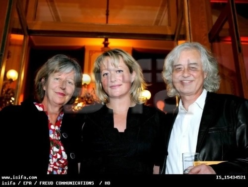 Charlotte Martin, Scarlet Page, and Jimmy Page. | Led ...