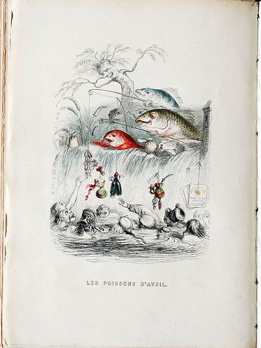 6.1 J.J. Grandville, Poissons d'Avril from Un Autre Monde (1843)  Age of Marx and Freud - switch from relationships with people to relationships with  commodities. Becoming increasingly divorced from the tangible histories of what surrounds us at the same time that there is an increasing investigation of the world within us. How can we explain even their most irrational behaviors?