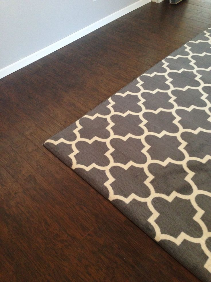 Rugs For Dark Floors Of Dark Floors With Accent Rug Home Pinterest