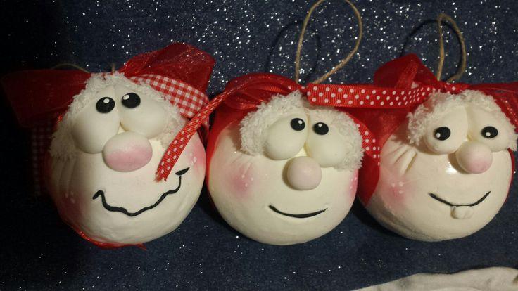 Natale decorazioni handmade