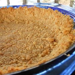 Graham Cracker Crust I Allrecipes.com (thanksgiving food graham crackers)