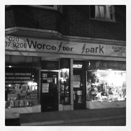 Worcester Park Shops of My Youth
