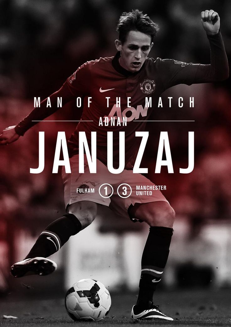 Man of the match: Adnan Januzaj