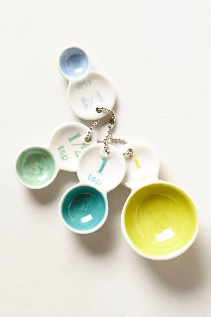 Color Tab Measuring Spoons | anthropologie