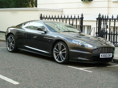 Aston Martin DBS Jake's treasured James Bond car