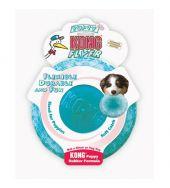 Kong Puppy Flyer Aqua