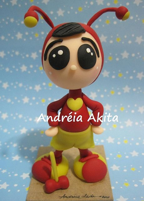 *SORRY, no information as to product used ~ Chapolin - by Andreia Akita, via Flickr
