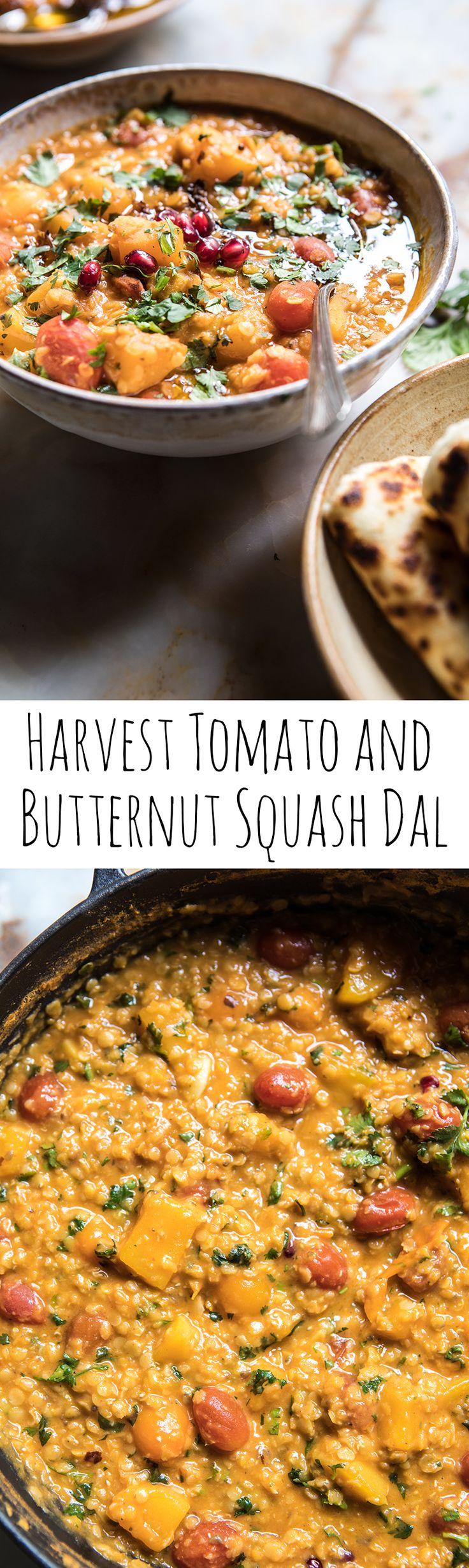 Harvest Tomato and Butternut Squash Dal | halfbakedharvest.com @hbharvest