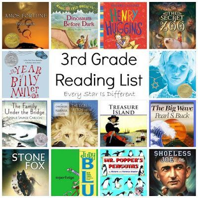 Every Star Is Different: 3rd Grade Reading List