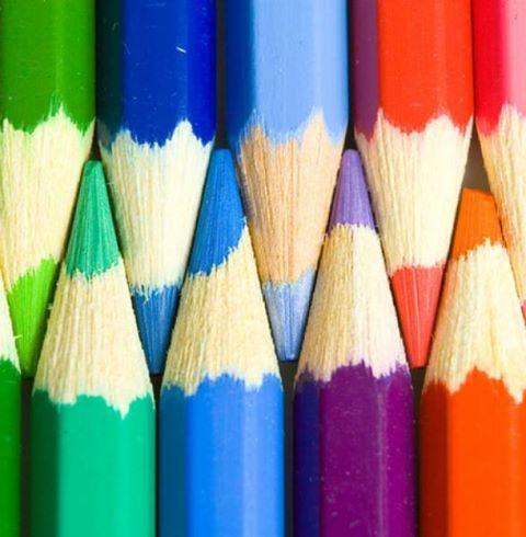 Sharpened Pencils #color #pop-art #pop