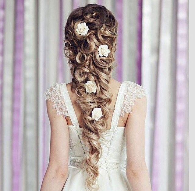 Princess Wedding Hairstyles: Pin By Rubi Lujan On Hair&Accessories