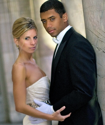 Russell Wilson Wedding: Rookies 7th-Seattle Seahawks-Russel Wilson, Rookie, And