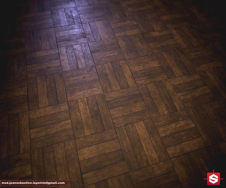 Wood Floor Material, Jean-Sébastien Lapointe on ArtStation at…