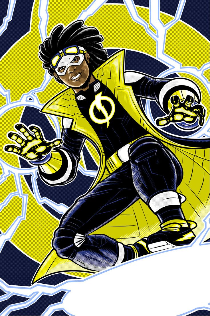 Static Shock Prestige Series by Thuddleston@deviantART