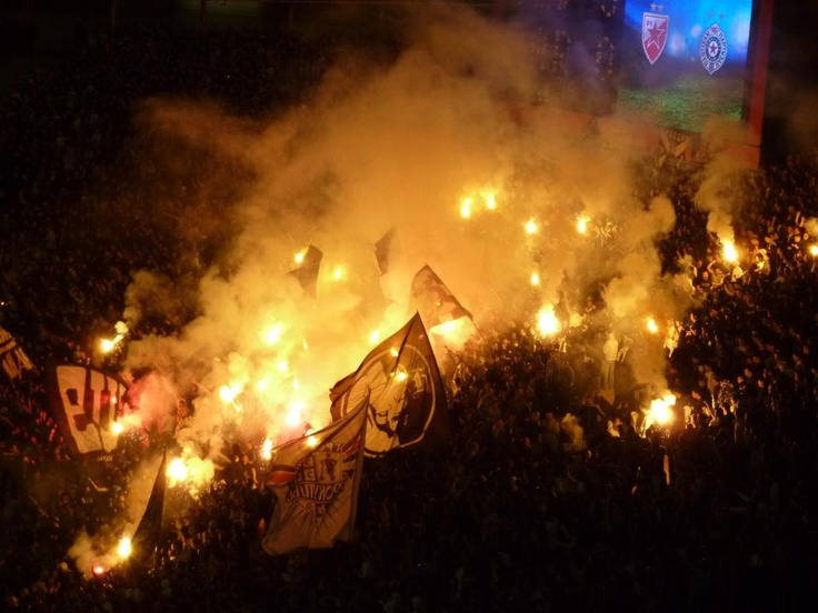 Helge @ Crvena Zvezda-Partizan