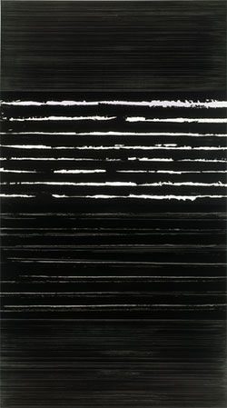 PIERRE SOULAGES 1999, 324x181 - inspired my Master's project. Coco Ochwada