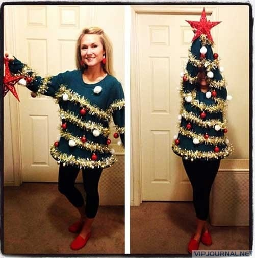 """Awesome """"ugly"""" sweater! If only I'd had this for my ugly sweater Christmas party!!"""