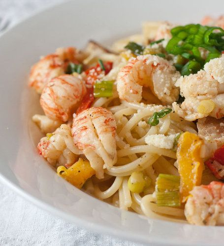 how to make lobster alfredo pasta