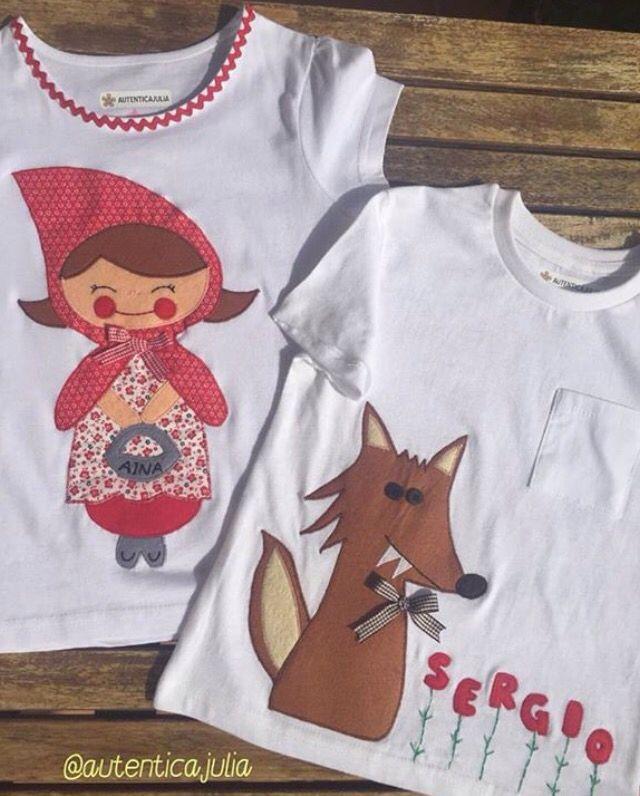 Imaginad lo requetebonitos que van a estar los hermanos Aina y Sergio con estas camisetas tan chulas... 👧🏻❤️🐺