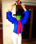Cuban Pete The Mask Homemade Costume - 2013 Halloween Costume Contest