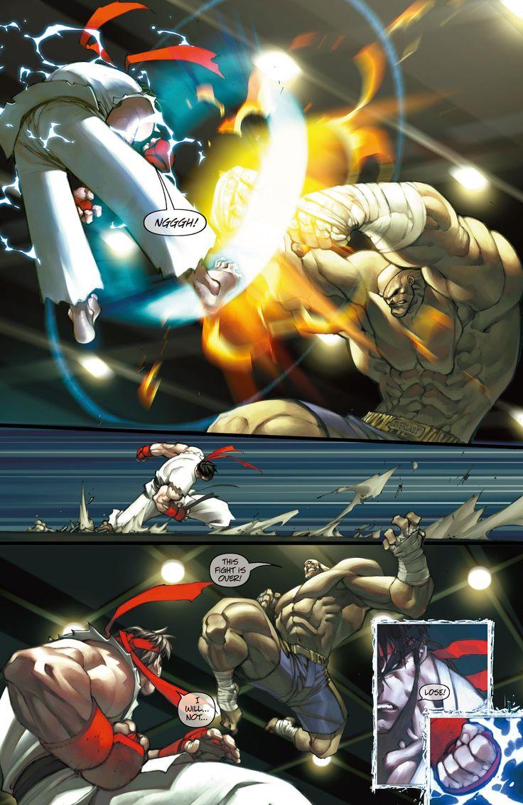 street fighter comics 03