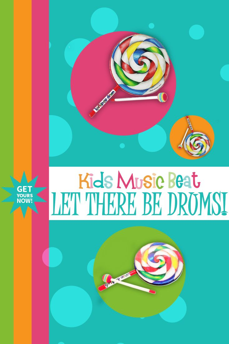 We know how much the little boppers just love the lollipop drums! Kids Music Beat now offer a range of standard Lollipop Drums in addition to the Remo range that you're used to seeing in our music groups. Free pick up for all Boppin' Babies customers! Place your order and pick up it up at your next group. #musicearlylearning #musicalchild